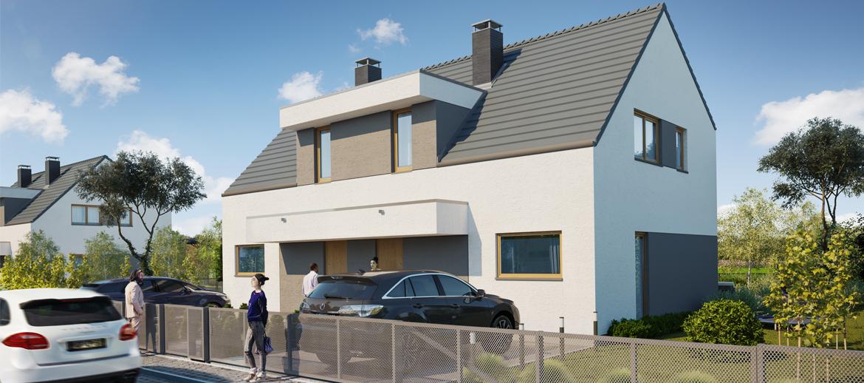 Dom Typ IIIa slide - Osiedla Żurawia w Wierzbiczanach – ostatnie domy na sprzedaż
